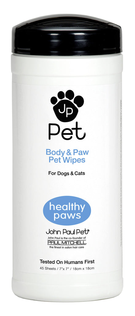 JP Pet - Body and Paw Wipes