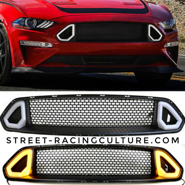 Led grill 18-19 Mustang RTR Style