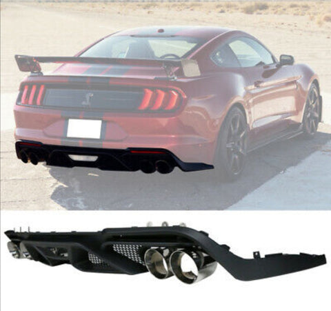 fits 18-20 GT500 style rear diffuser