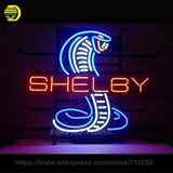 Shelby Snake Neon Sign Decorate Real Glass Tube Neon Bulbs
