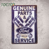 signsFord Genuine Parts & service since 1903