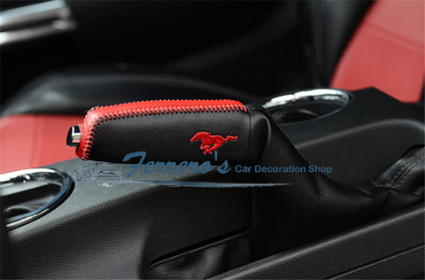 Free shipping Hand brake lever set for 2015 2018 new ford mustang