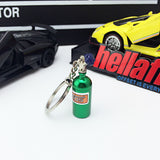 Hot Car Modified NOS Nitrogen Cylinder Key Chain