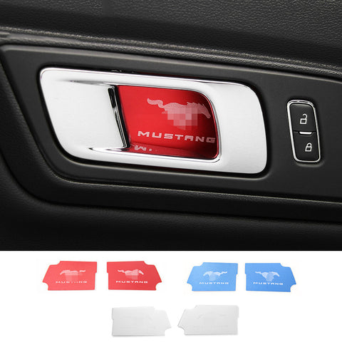 Interior Door Handle Bowl Cover trim For Mustang 2015+