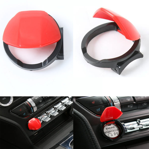 Mustang 2015/2017 Engine Switch Button Cover Cap