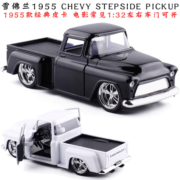 1:32 scale Chevrolet Chevy 1955 pickup metal cars
