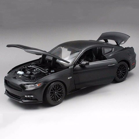 New arrival 1/18 Scale black  Mustang 2015 GT 5.0