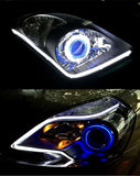 Light Angel Eye Flexible LED Strip Fog With Changeable Turn Signal