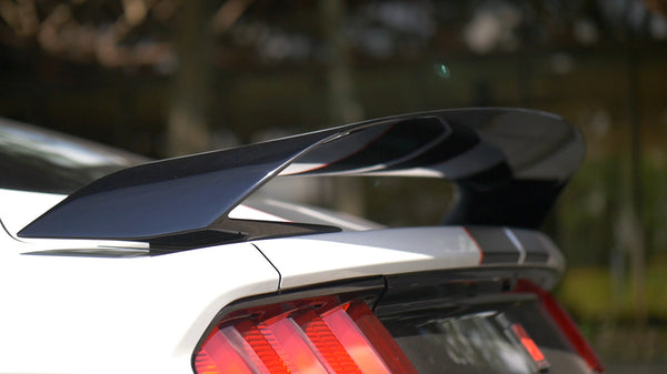 2015-2018 GT350  Glossy Black Trunk Spoiler Wing