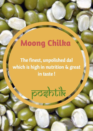 Moong Chilka-www.poshtik.in