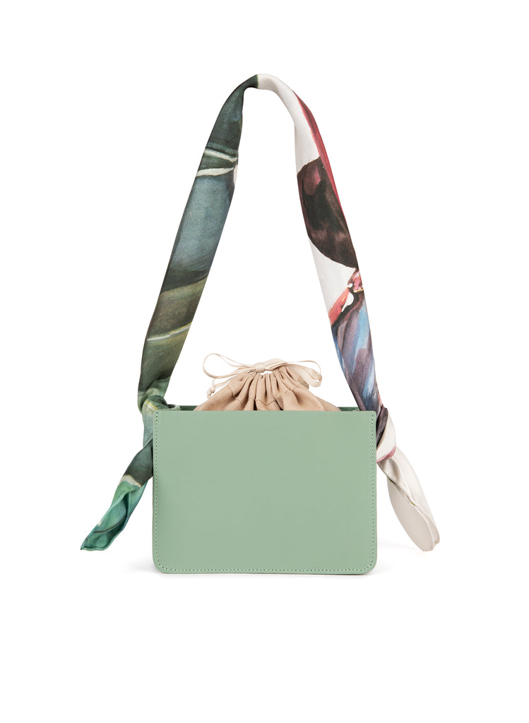 Sage Mini Guaria with Scarf Handle