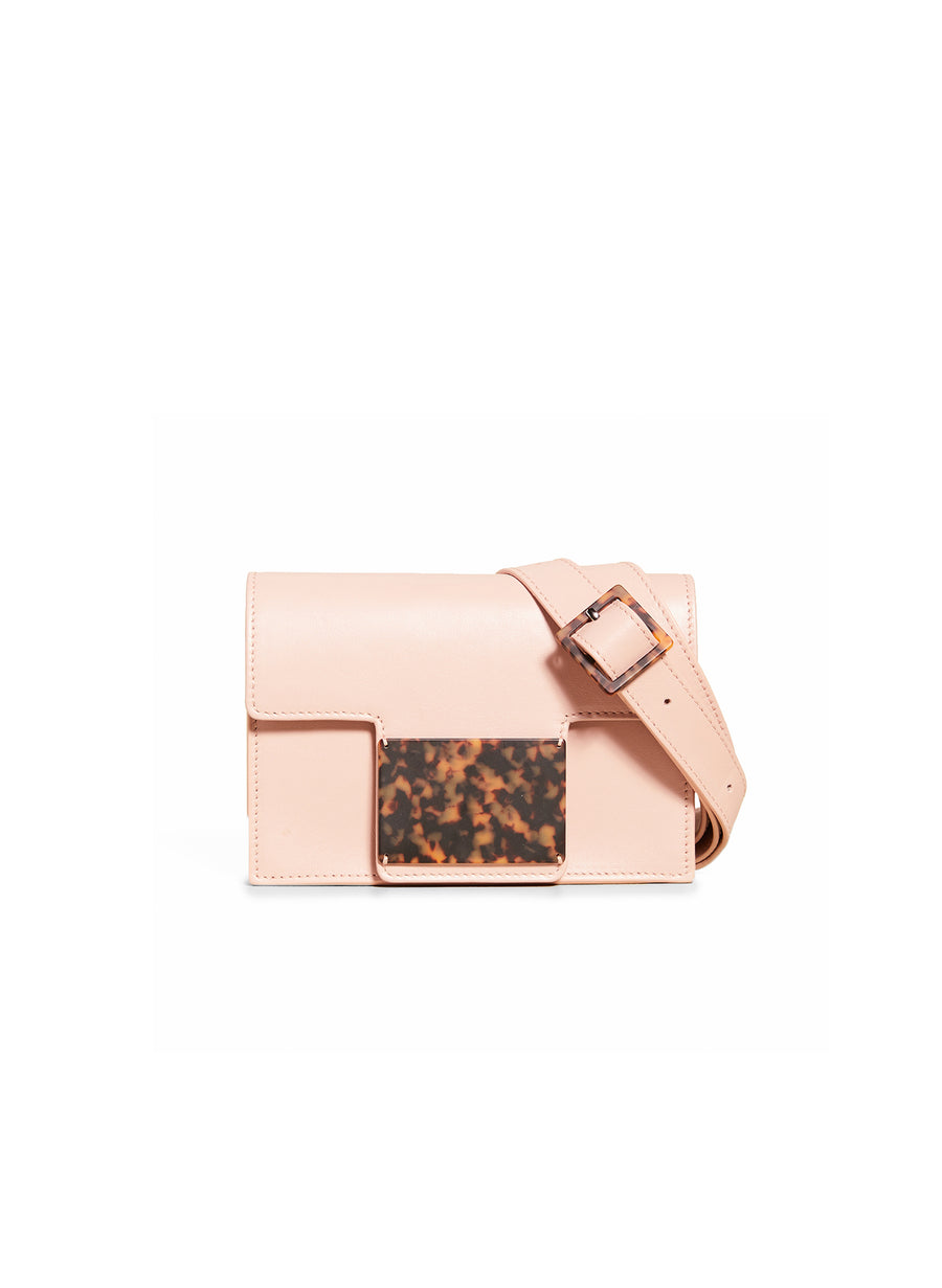 Convertible Belt Bag in Blush