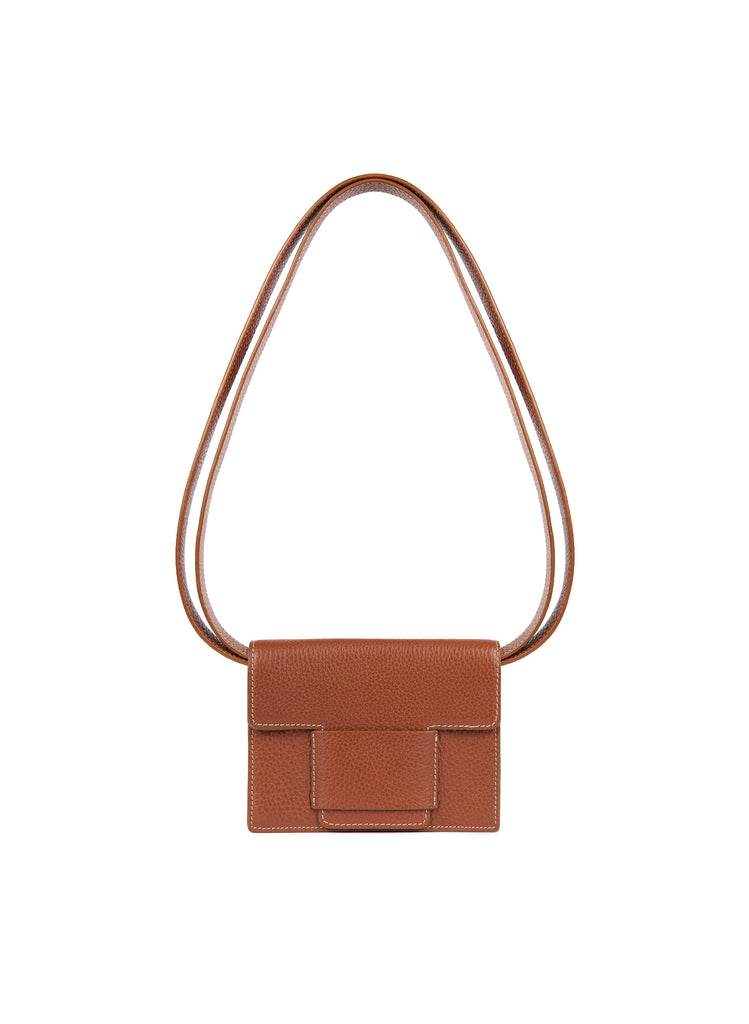 Convertible Belt Bag in Cognac