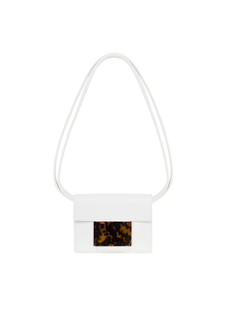 Convertible Belt Bag in White