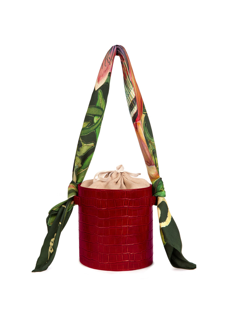Berry Croc Isla Bag