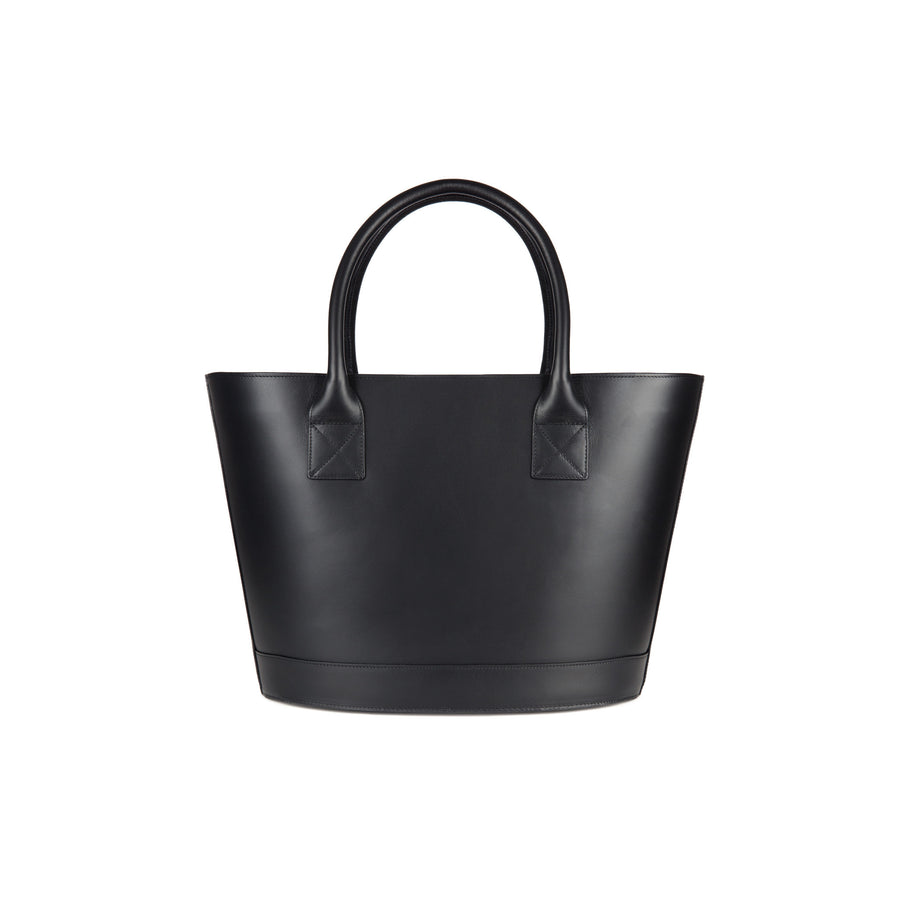 Picnic Tote in Black and Montunas