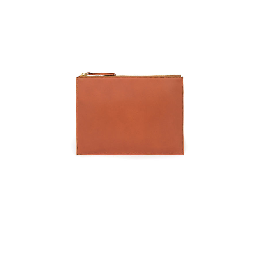 Pouch in Cognac and Montunas