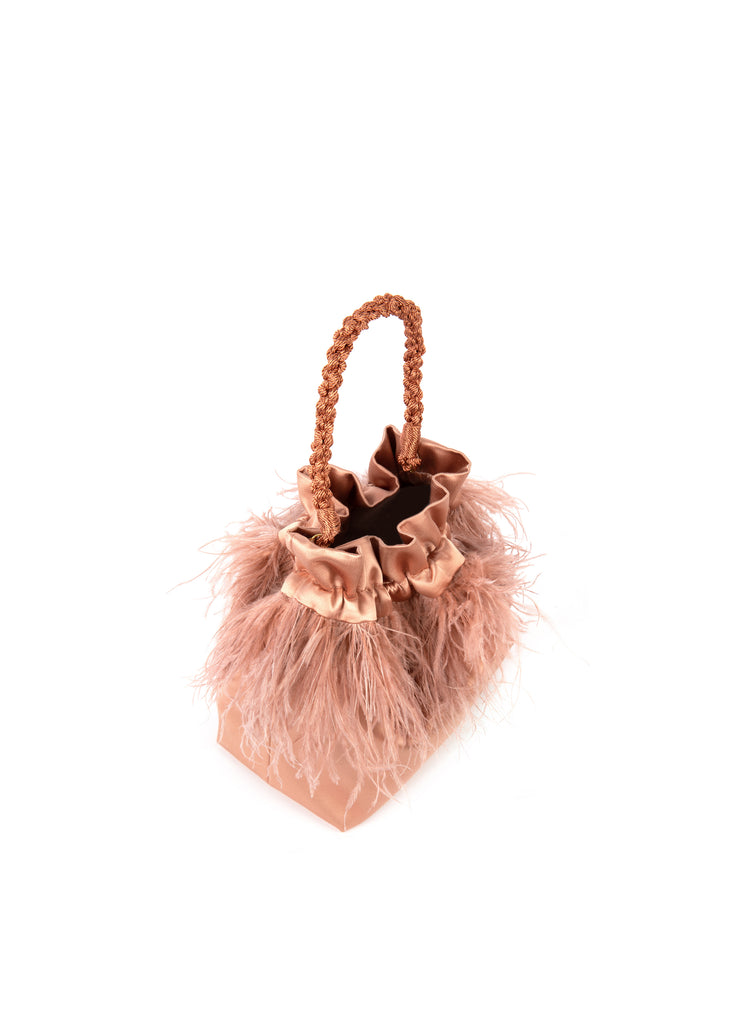Pluma Pouch in Blush