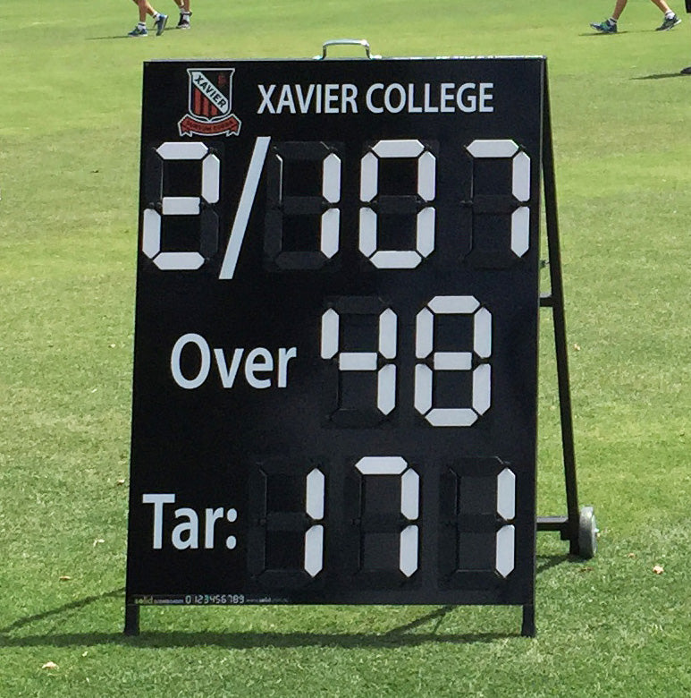 Cricket  A-frame Scoreboard (manual)