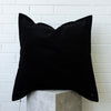 Corduroy European Pillowcase - Black
