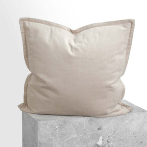 Darcy Corduroy European Pillowcase - Beige