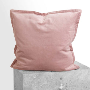 Darcy Corduroy European Pillowcase - Blush