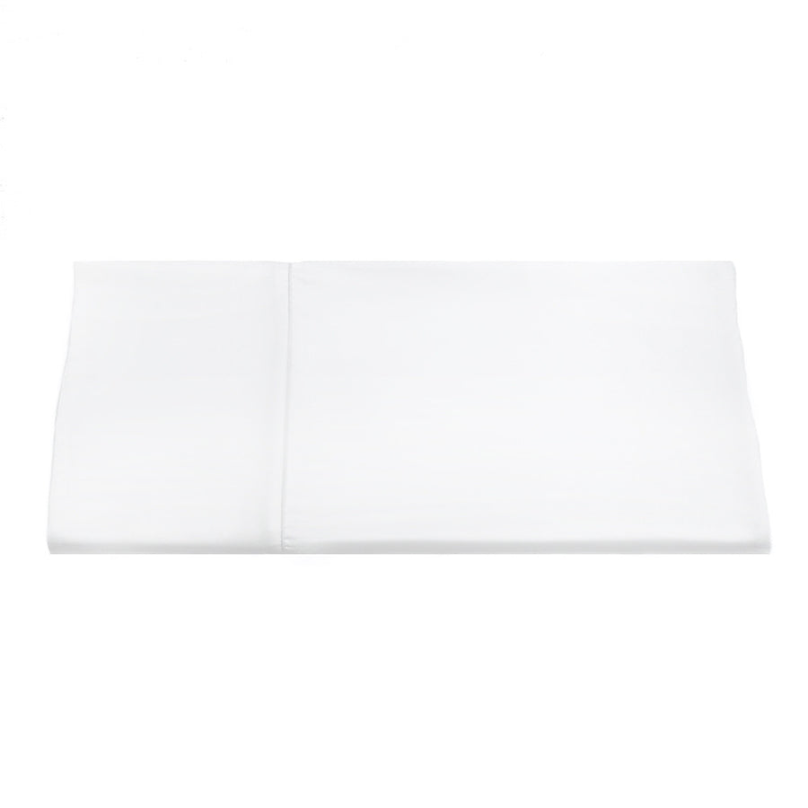 PEARL Organic Cotton Flat Sheet - White - The Sheet Society
