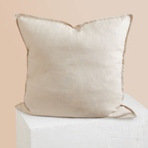 Eve Linen European Pillowcase - Beige
