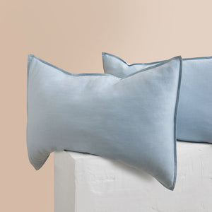 Eve Linen Pillowcases - Blueprint