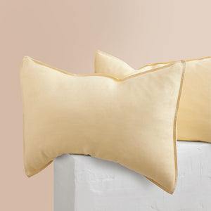 Eve Linen Pillowcases - Butter