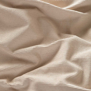 Darcy Corduroy Quilt Cover - Beige