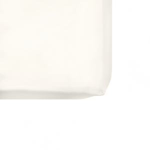 Pearl Organic Cotton Fitted Sheet - Cream - The Sheet Society