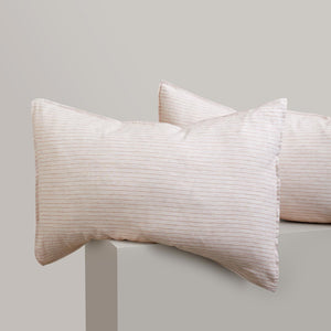 Striped Linen Pillowcases - Palermo