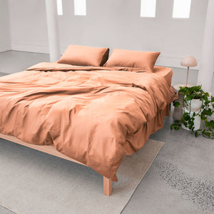Eden Quilt Cover - Papaya