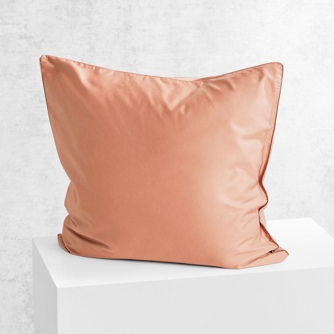 Eden European Pillowcase - Papaya