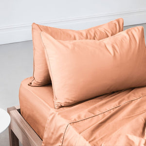 Eden Pillowcases - Papaya