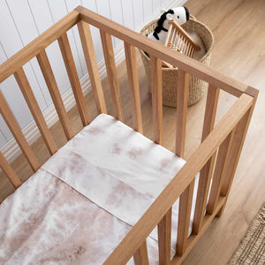 Tie-Dye Kids Bedding - Beige