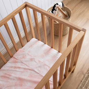Tie-Dye Kids Bedding - Peach