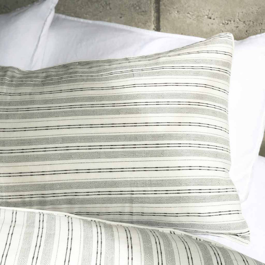 TAYLOR Striped Linen Quilt Cover