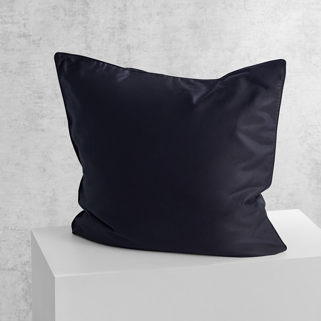 Eden European Pillowcase - Black