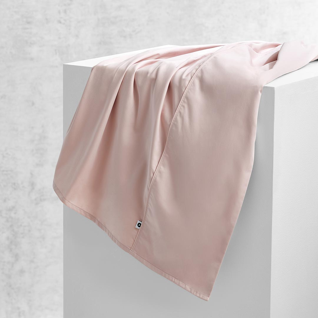 Eden Flat Sheet - Blush