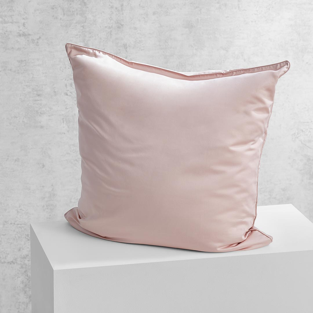 Eden European Pillowcase - Blush