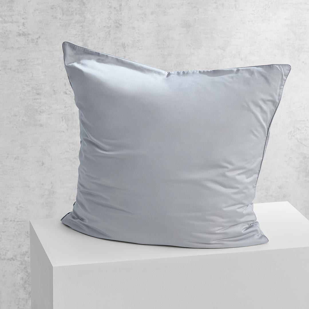Eden European Pillowcase - Dove Grey