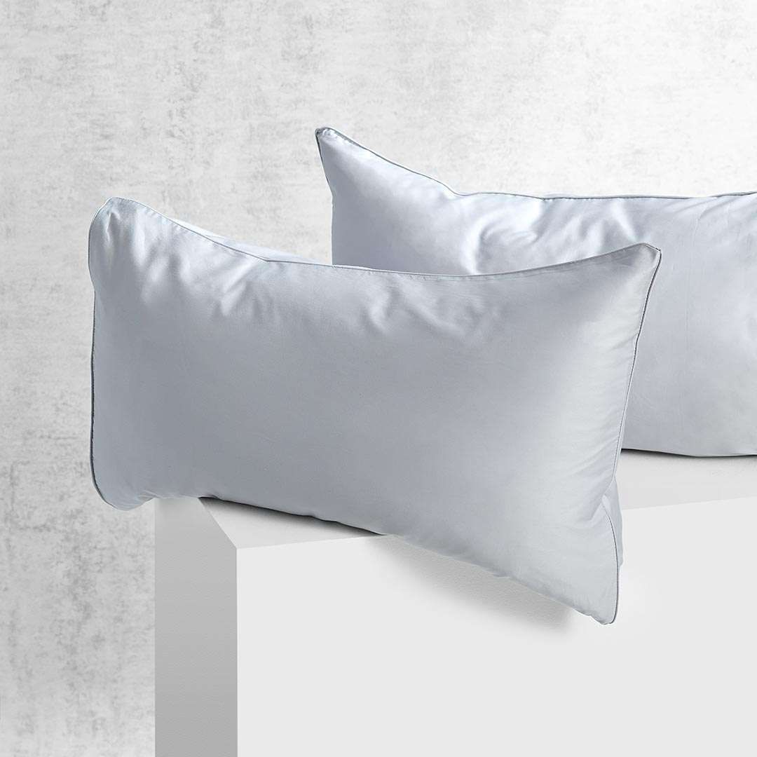 Eden Pillowcases - Dove Grey