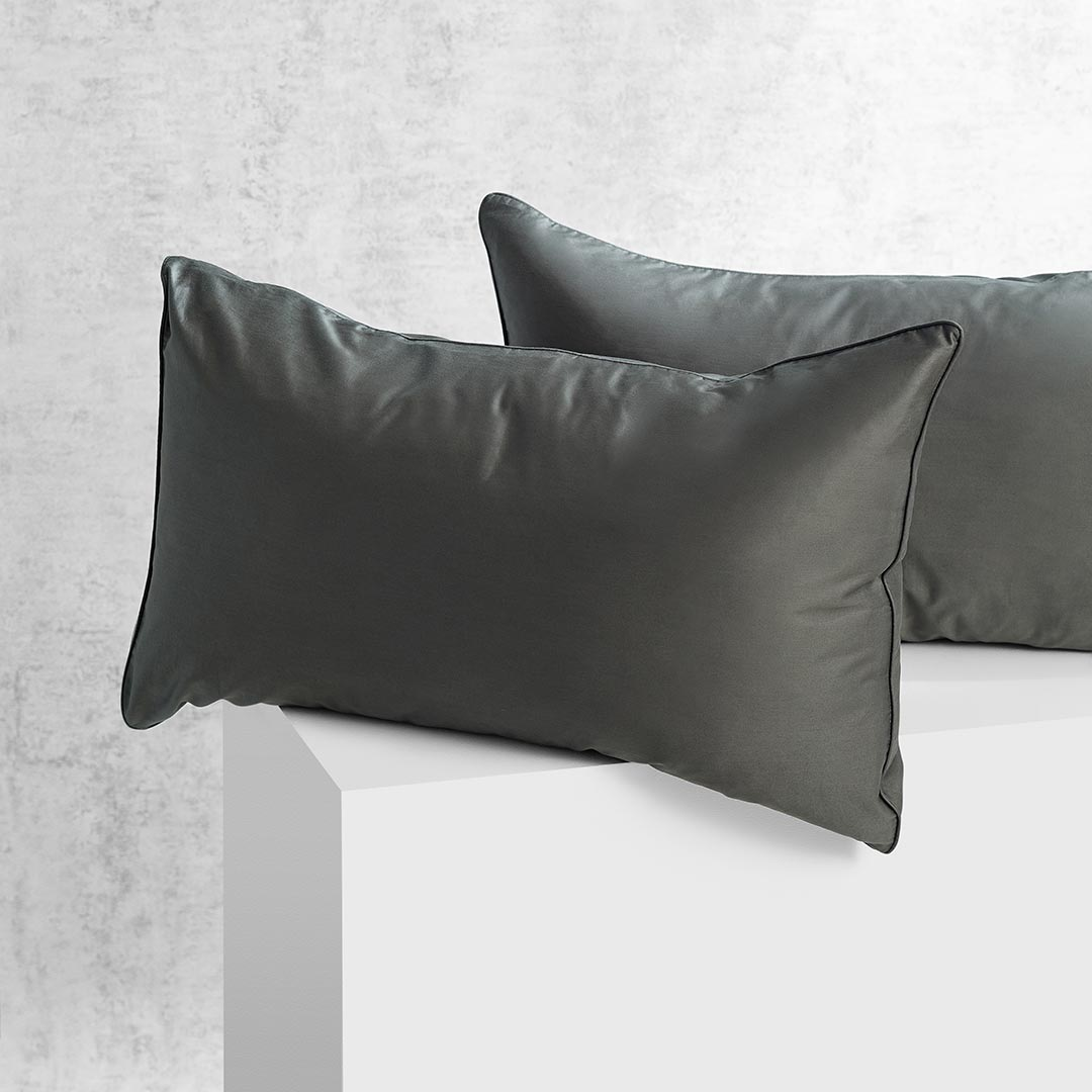 Eden Pillowcases - Hunter Green