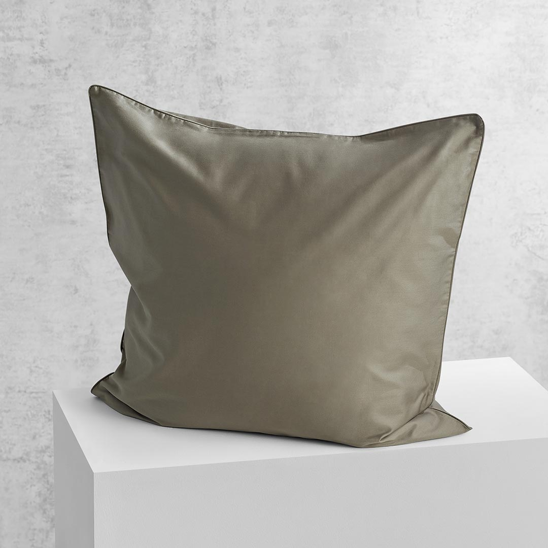 Eden European Pillowcase - Moss