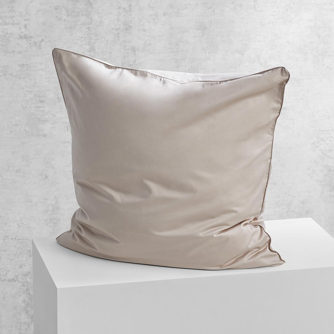 Eden European Pillowcase - Beige