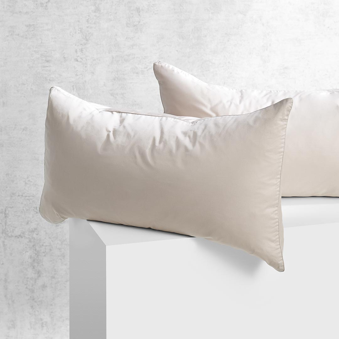 Eden Pillowcases - Nude