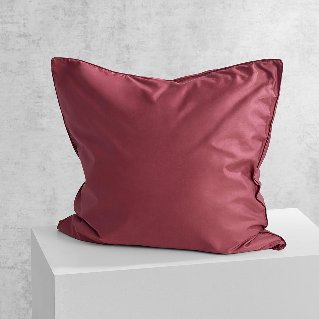 Eden European Pillowcase - Rose