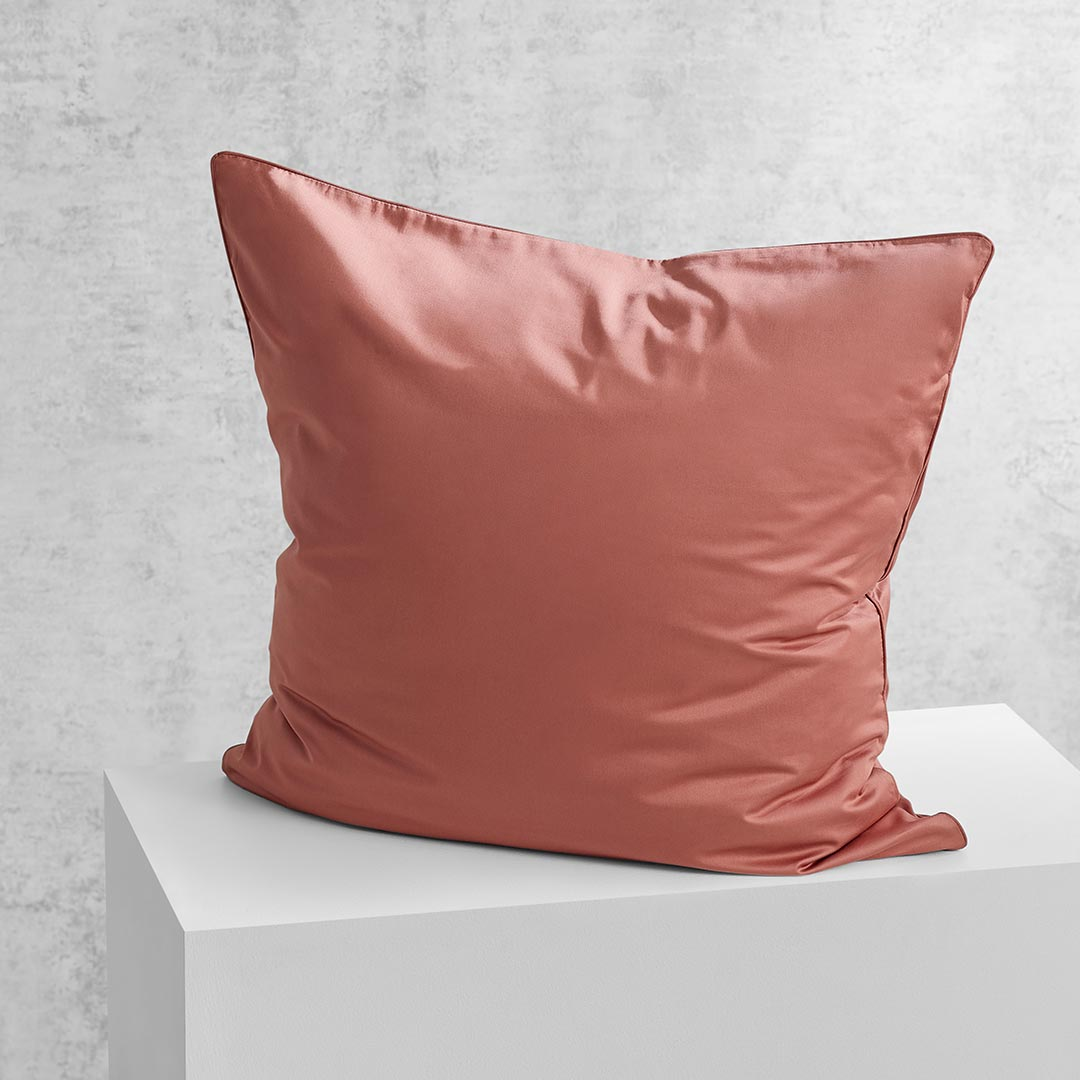 Eden European Pillowcase - Rust